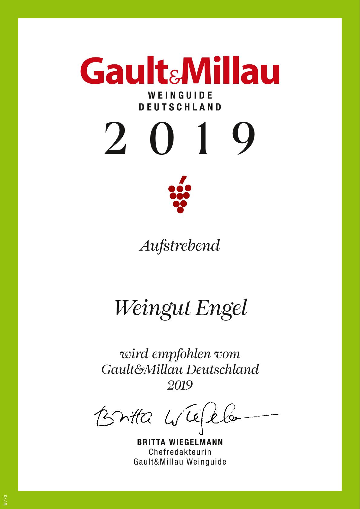 Gault & Millau / Wein 2019