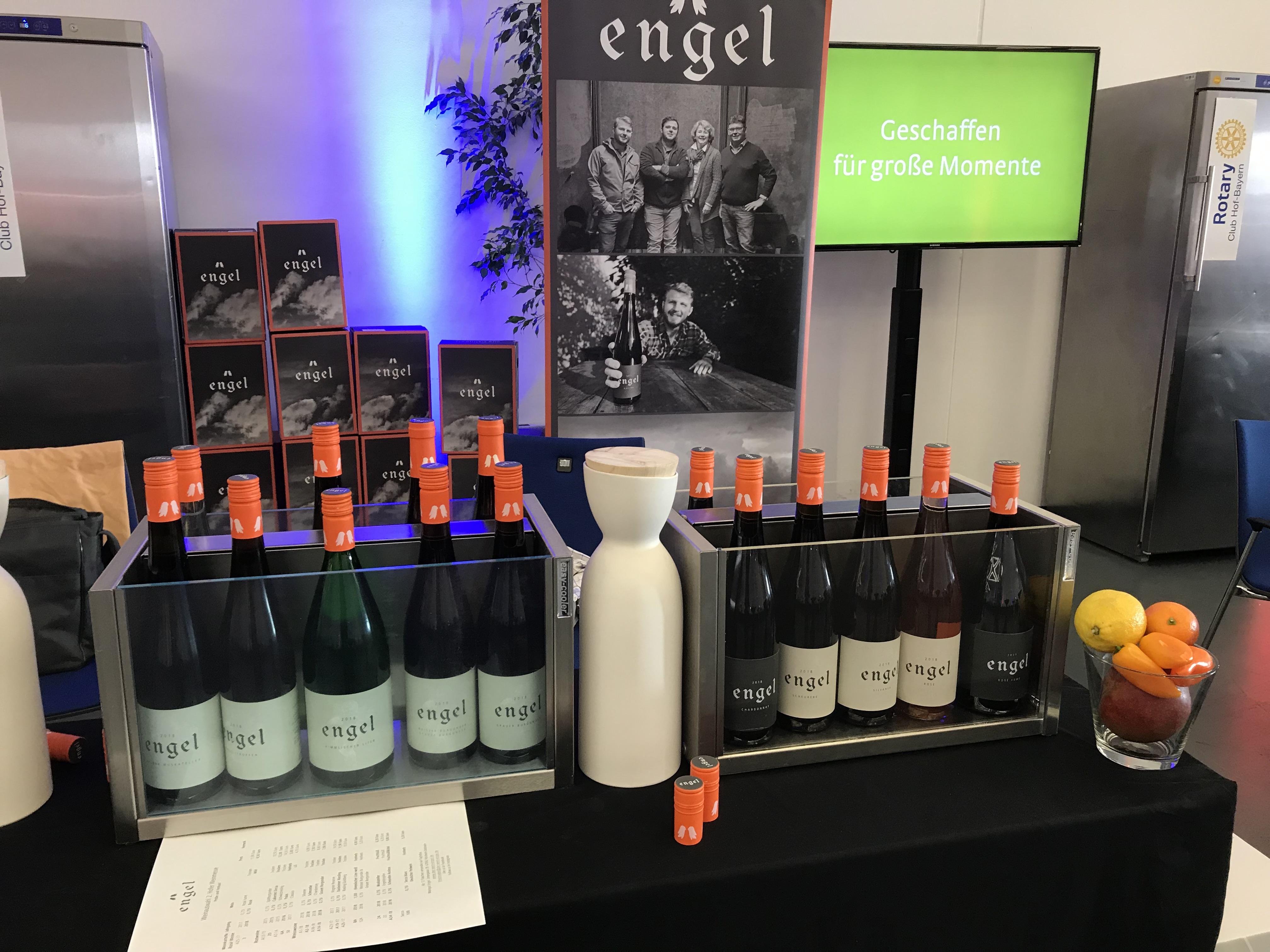 Weinpräsentation Region Rheda-Wiedenbrück