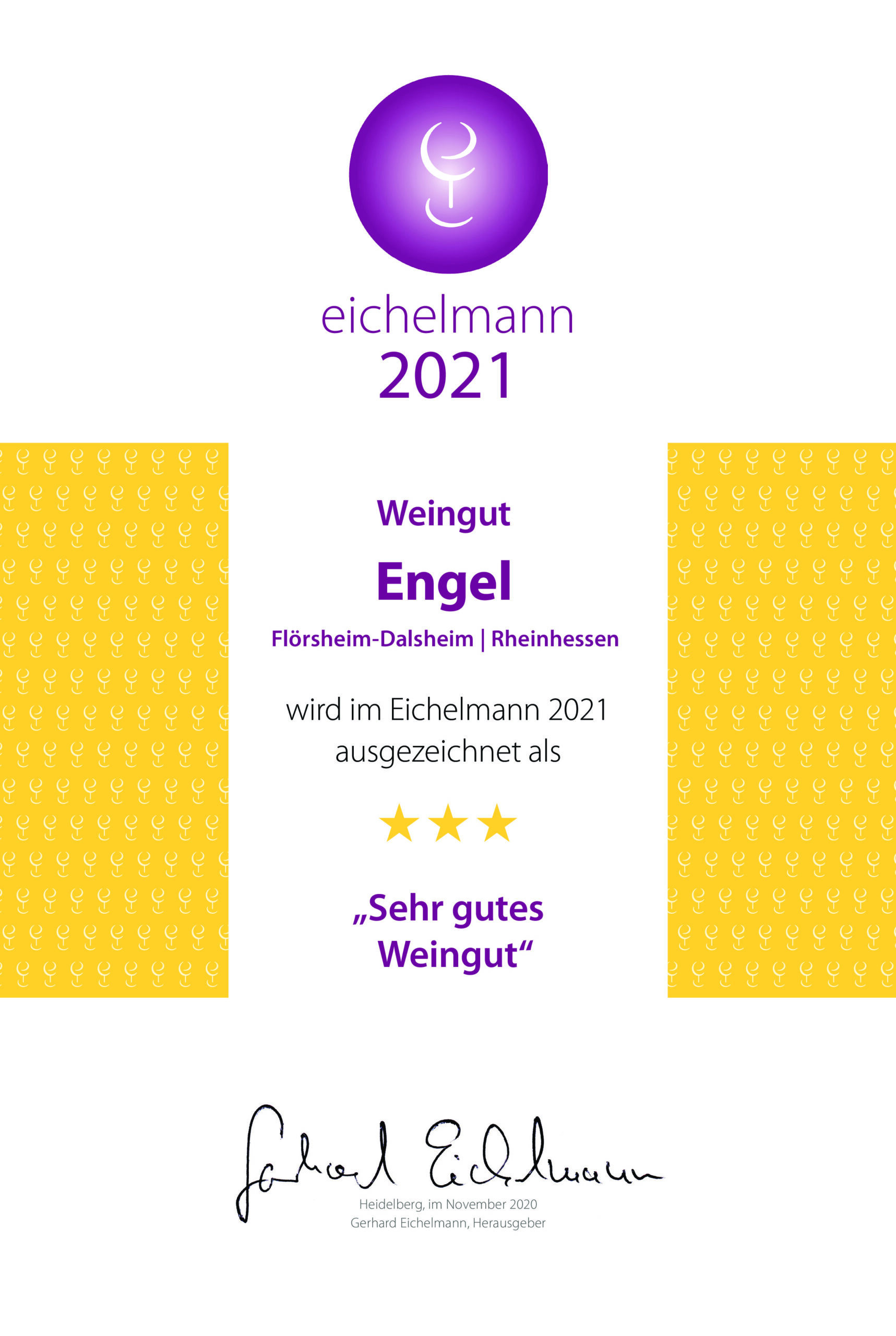 3 Sterne bei Eichelmann