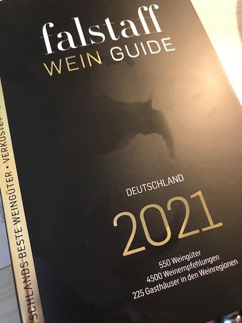 Falstaff  Wine-Guide Debüt mit 1 Stern belohnt