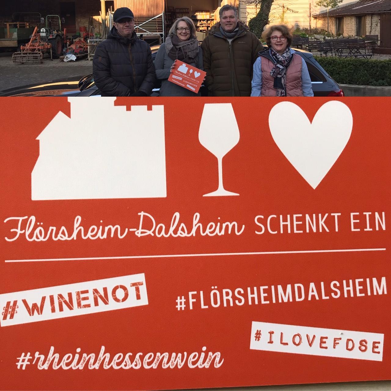 """2020er Sémillon Favoriten-Wein für """"Flörsheim Dalsheim schenkt ein"""""""